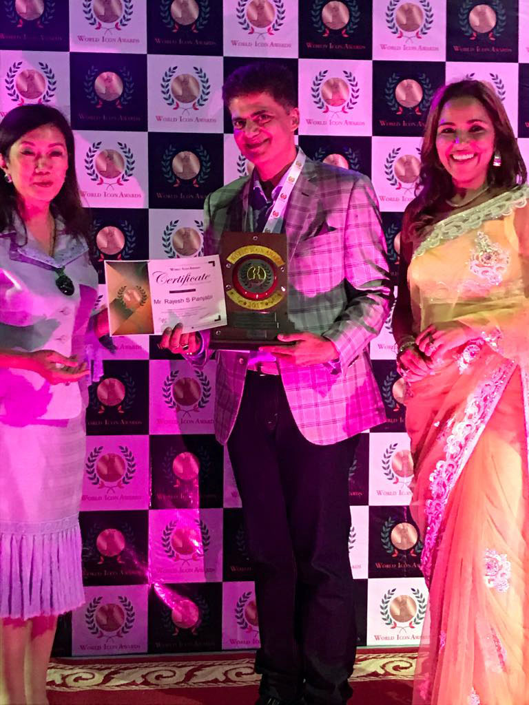 2017 world icon award - Mr Raj Punjabi